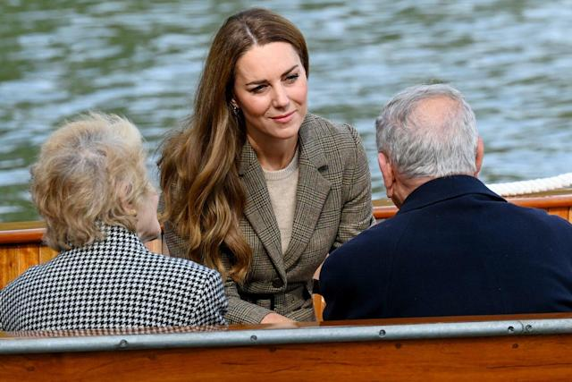 Duchess of Cambridge Gets Back to Work After Summer Break, Meeting Holocaust Survivors, Getting Outside and Hosting Reception at KensingtonPalace